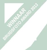 Moniek Aansorgh Winnaar Bruidsfoto Award 2013