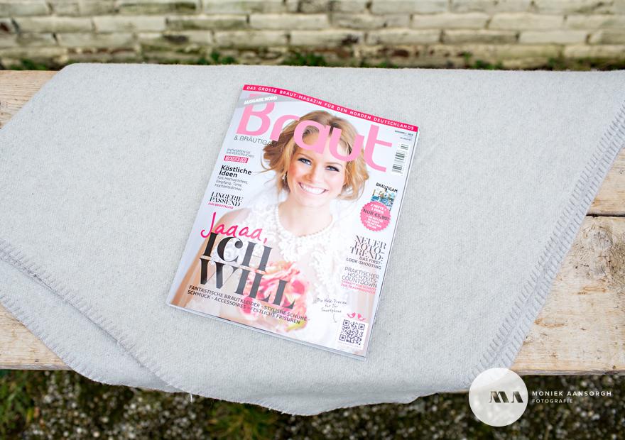 Publicatie Duitse bruidsmagazine Braut