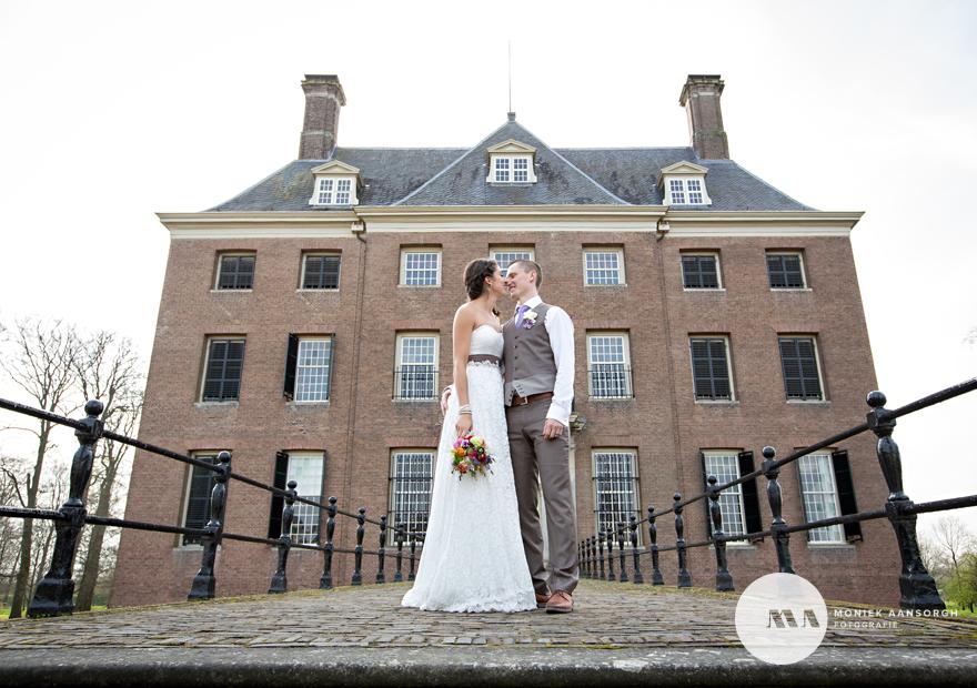 Bruidsfotografie Buitenplaats Amerongen Sofie&Blake