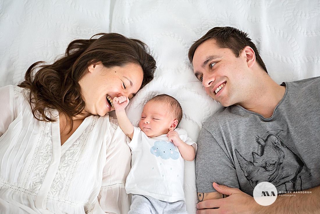 Lifestyle newbornfotografie Den Haag | Dean