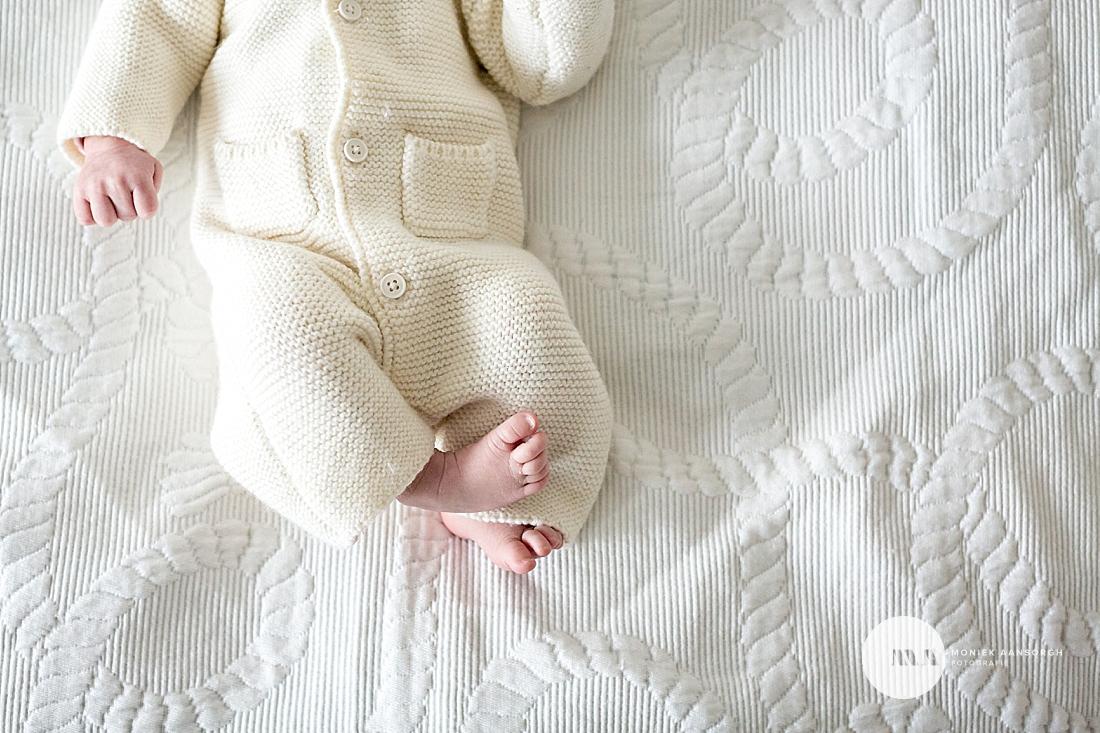 Lifestyle newborn fotosessie Den Haag | June
