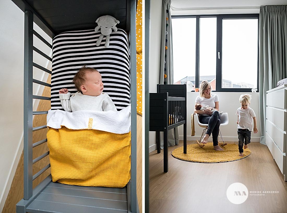 Newborn lifestyle fotografie Enschede | Noud