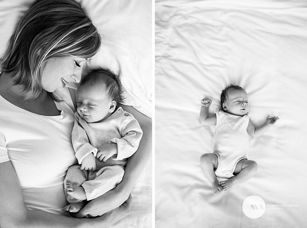 Newborn lifestyle fotografie Enschede